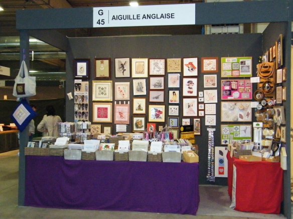 Aiguille Anglaise Stand Parma 1