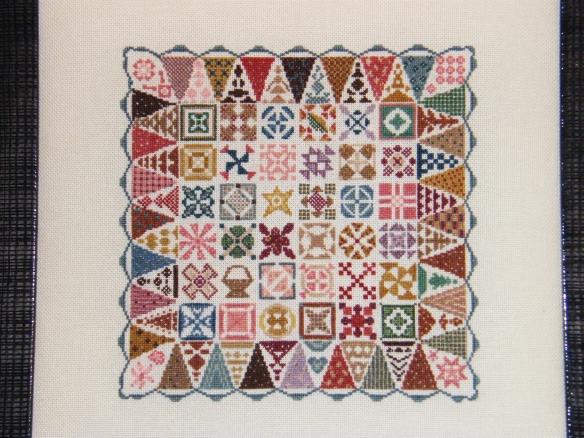 Dear Jane Cross Stitch - Belgique