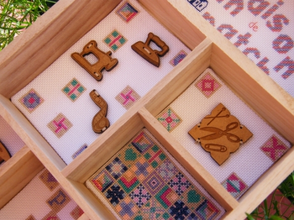 Angle close up photo - patchwork house