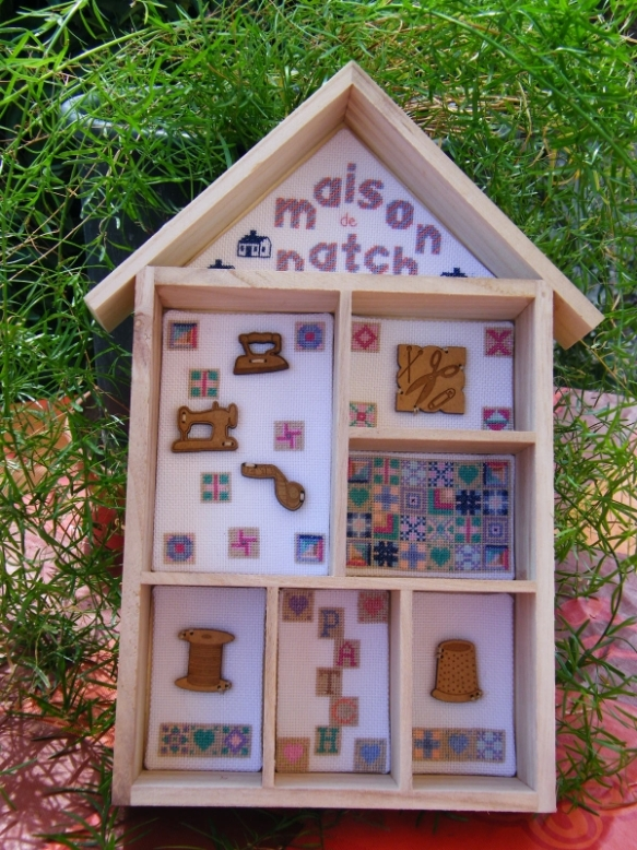 patchwork house
