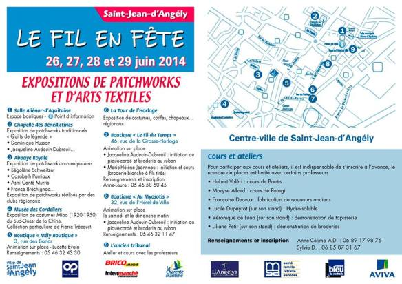 St Jean d'angely flyer 2014 - 2
