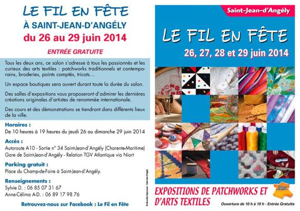 St Jean d'angely flyer 2014