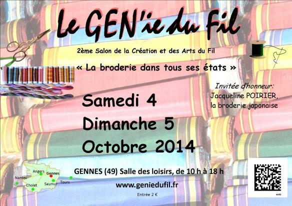 Gennes affiche 2014 paysage