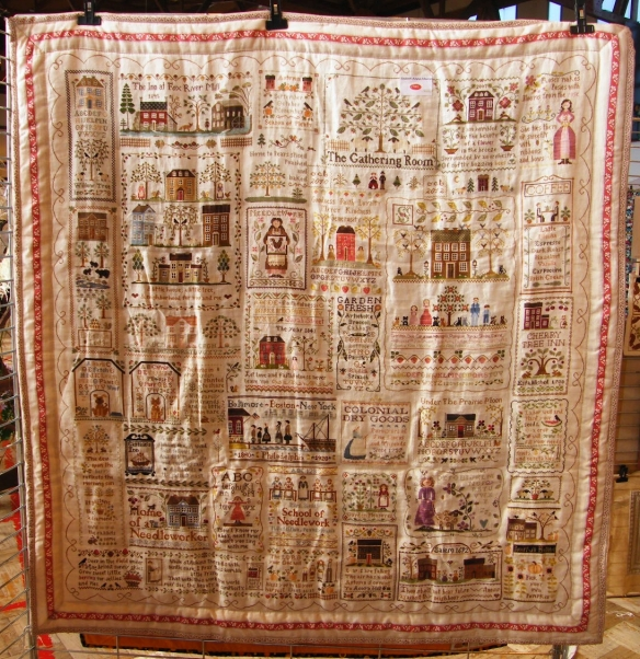 Large Embroidered Quilt