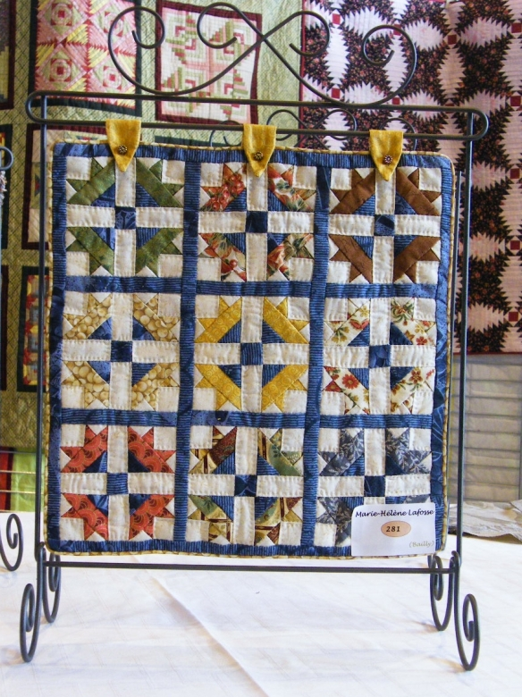 Quilt in miniature