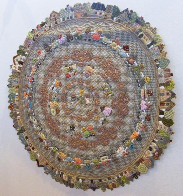 round quilt