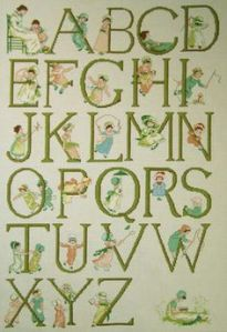 kate greenaway alphabet