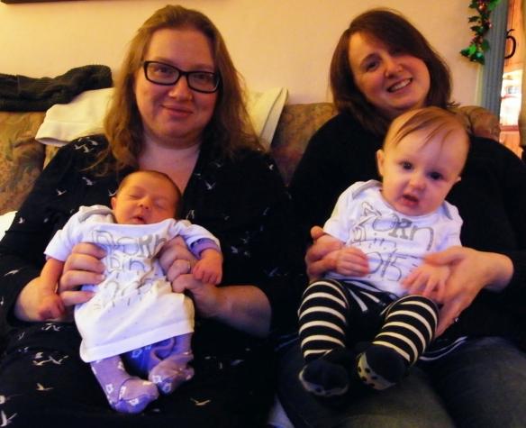 Helen & Rosa, Ally & Olly 2